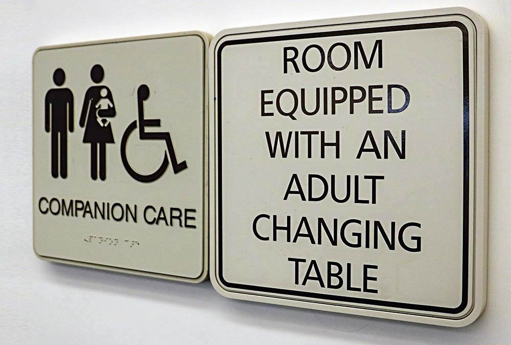 Changing Table Signs